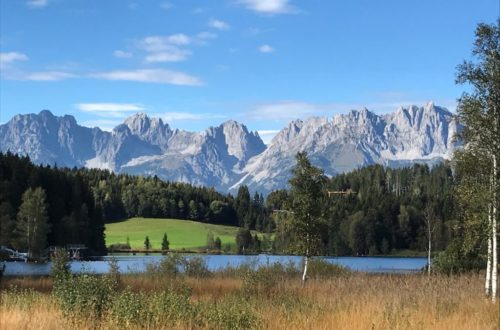 Nahe Kitzbühel / Authentisches Bauernhaus in gigantischer Panoramalage für 10 Personen
