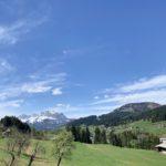 Fieberbrunn: wunderschönes gehobenes Landhaus in einer atemberaubenden Panorama Lage mit Blick auf den Kaiser und auf das Horn