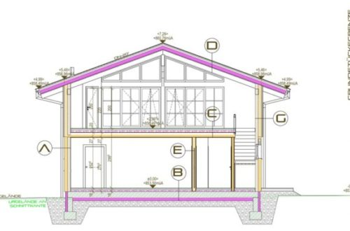 Neubauprojekt 2020: edles exklusives Landhaus in gigantischer Aussichtslage
